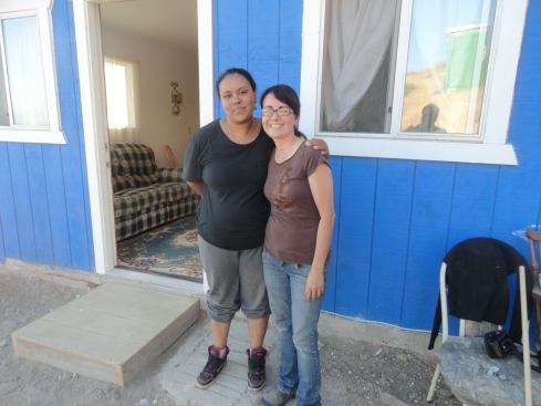 Dina from our Home Church, the construction coordinator and Bianca